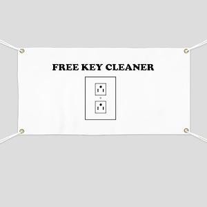 Free Key Cleaner Banner