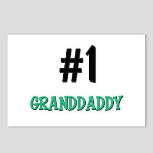 Number 1 GRANDDADDY Postcards (Package of 8)