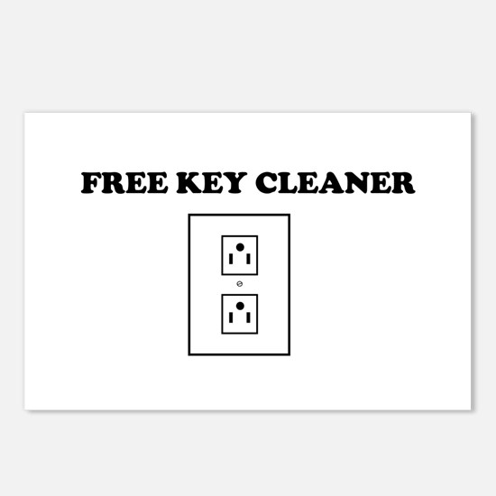 Free Key Cleaner Postcards (Package of 8)
