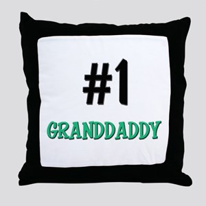 Number 1 GRANDDADDY Throw Pillow