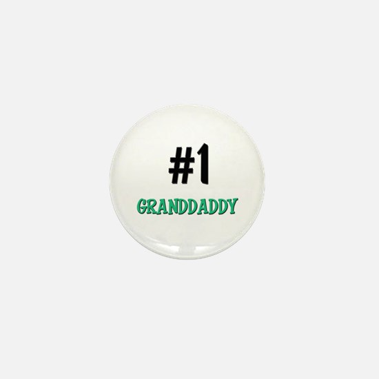 Number 1 GRANDDADDY Mini Button
