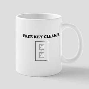 Free Key Cleaner Mugs