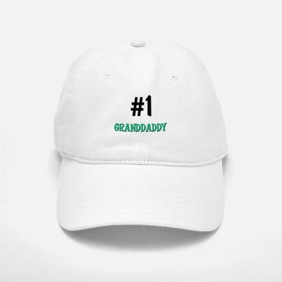 Number 1 GRANDDADDY Baseball Baseball Cap