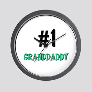 Number 1 GRANDDADDY Wall Clock
