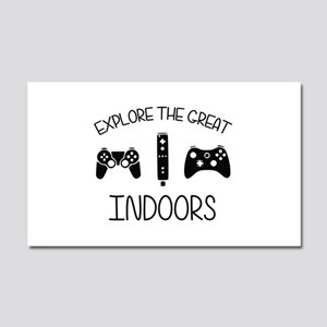 Explore The Great Indoors Video Games Car Magnet 2