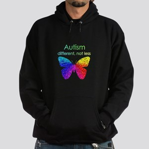Autism Butterfly, different, not les Sweatshirt