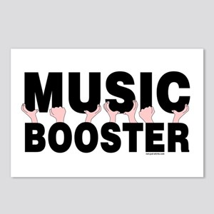 Music Booster Hands Postcards (Package of 8)