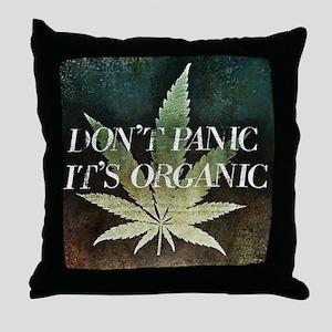 DontPanic Throw Pillow