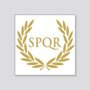 Rome SPQR Roman Senate Seal Sticker