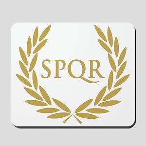 Rome SPQR Roman Senate Seal Mousepad