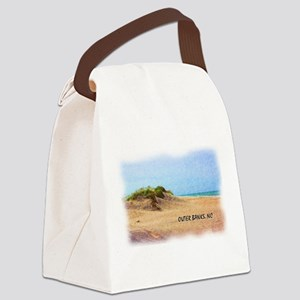 Outer Banks Dune, NC Canvas Lunch Bag