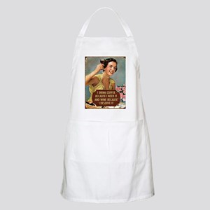 Drink Wine Apron