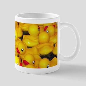 Cute yellow rubber duckies Mugs