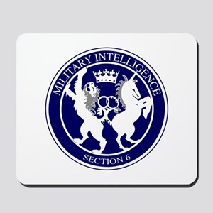 MI6 Logo Button Mousepad