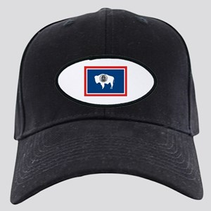 Wyoming flag Black Cap