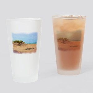 Outer Banks Dune, NC Drinking Glass