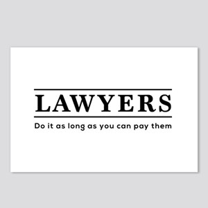 Lawyers do it as long as paid Postcards (Package o