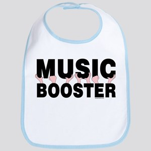 Music Booster Hands Bib