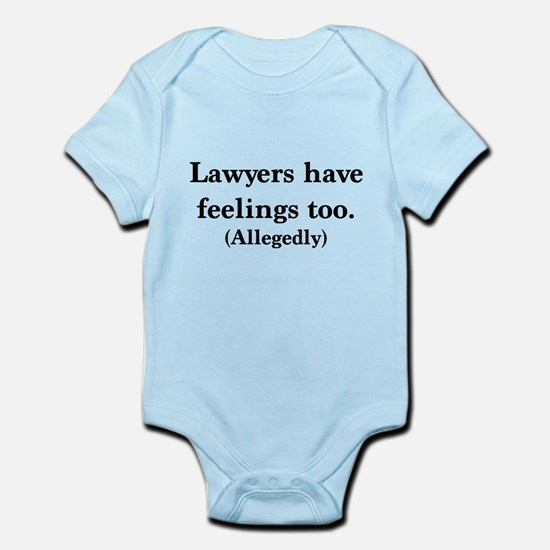 Lawyers have feelings too Body Suit