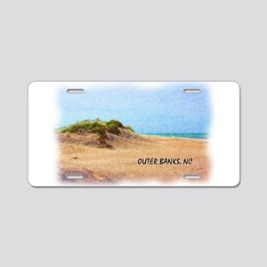 Outer Banks Dune, NC Aluminum License Plate