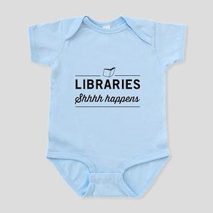Libraries shhhh happens Body Suit