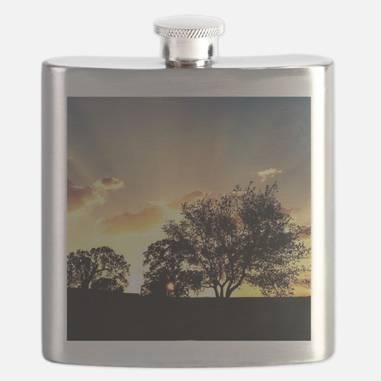 Oaktree Sunrise Flask