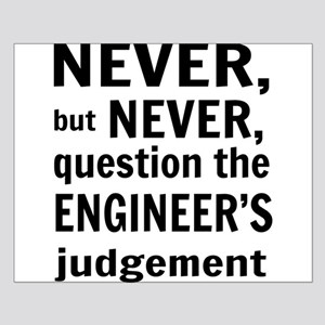 Never but never engineer Posters