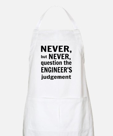 Never but never engineer Apron