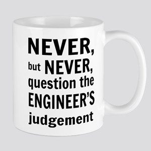 Never but never engineer Mugs