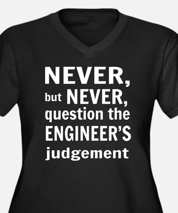 Never but never engineer Plus Size T-Shirt