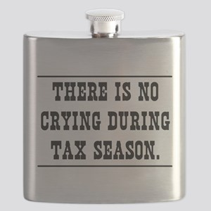 No crying during tax season Flask