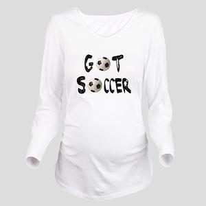 got soccer wba;; Long Sleeve Maternity T-Shirt