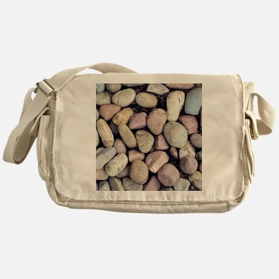 Colorful Rocks Messenger Bag