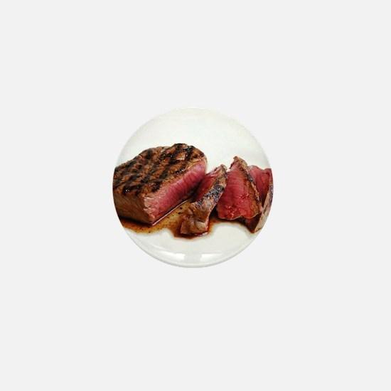 Unique Steak Mini Button