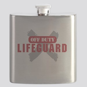 Off duty lifeguard Flask