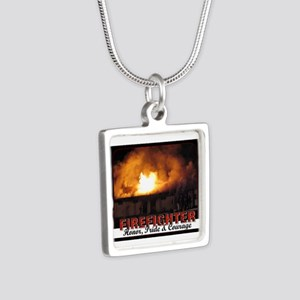 Firefighter Honor Pride Courage Necklaces
