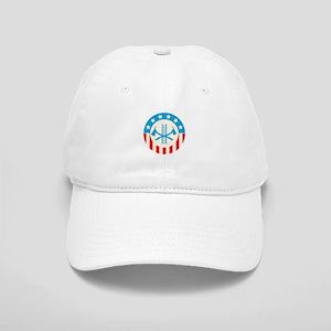 Patriotic firefighter Baseball Cap