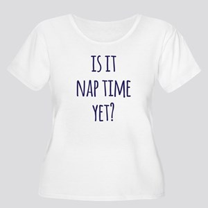 Nap Time Plus Size T-Shirt