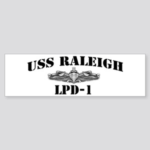 USS RALEIGH Sticker (Bumper)