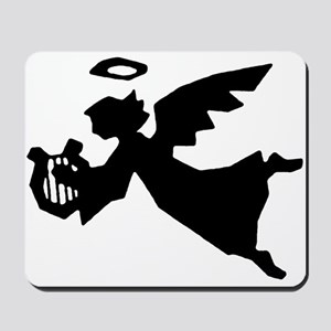 Angel With Harp Mousepad