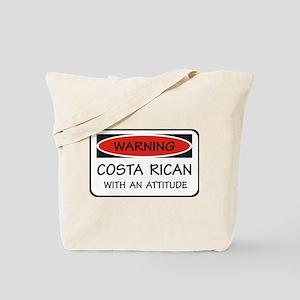 Attitude Costa Rican Tote Bag
