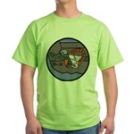 USS CAMBRIA Green T-Shirt
