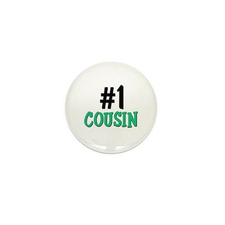 Number 1 COUSIN Mini Button