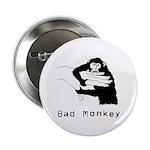 Monkey Day Bad Monkey Button