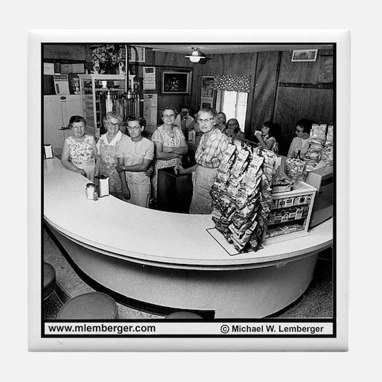 Canteen Ladies Tile Coaster