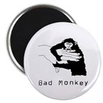 "Bad Monkey 2.25"" Magnet (10 pack)"