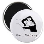 "Bad Monkey 2.25"" Magnet (10 pack)"