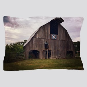 Country Missouri Barn Pillow Case