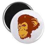 Monkey Day Revolution Magnet