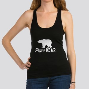 Papa bear Racerback Tank Top